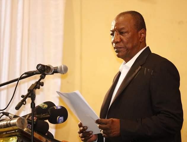 Alpha Condé annonce officiellement la ténue d'un référendum en Guinée