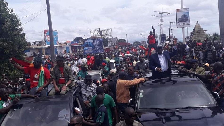 Une forte mobilisation, du jamais-vu, Sidya Touré impressionné