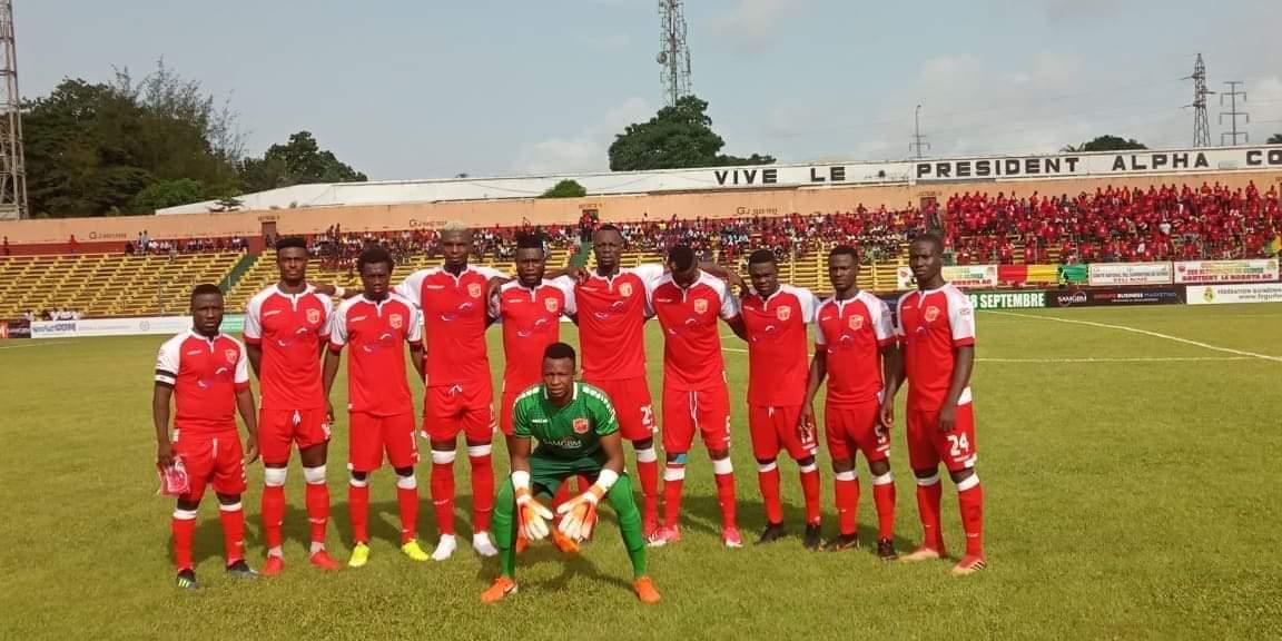 Coupe CAF : le Horoya s'impose à domicile face à Bandari