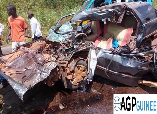 Kissidougou : Un accident de la route fait 12 morts et 13 blessés