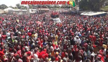 Labé : forte mobilisation des citoyens à la marche du FNDC