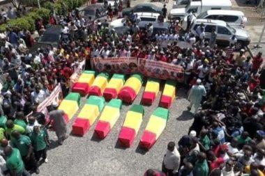 Conakry : deux morts par balles lors d'une marche funèbre dispersée par la police