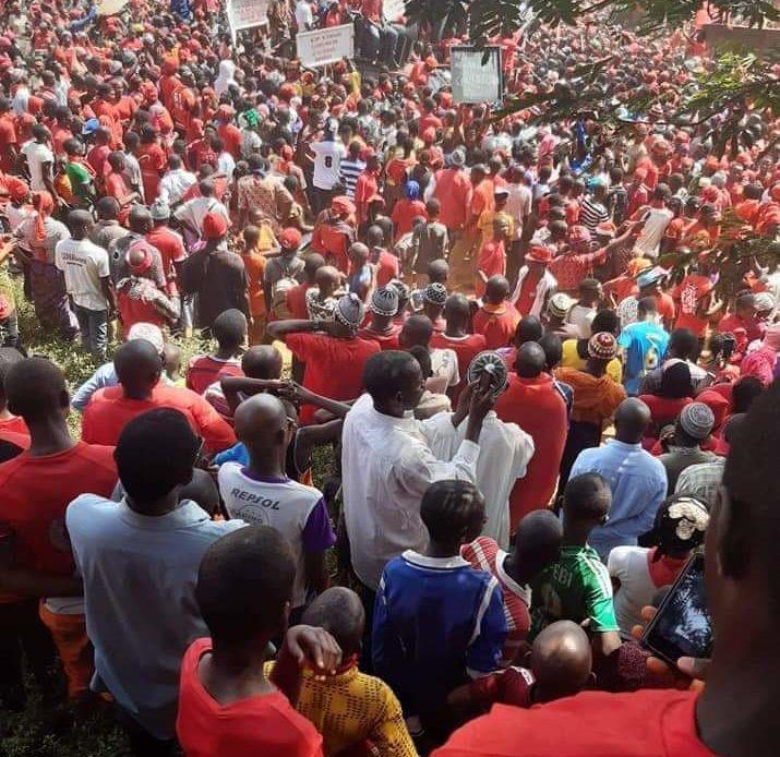 """""""Tout le peuple de Guinée est contre un 3e mandat"""" d'Alpha Condé"""