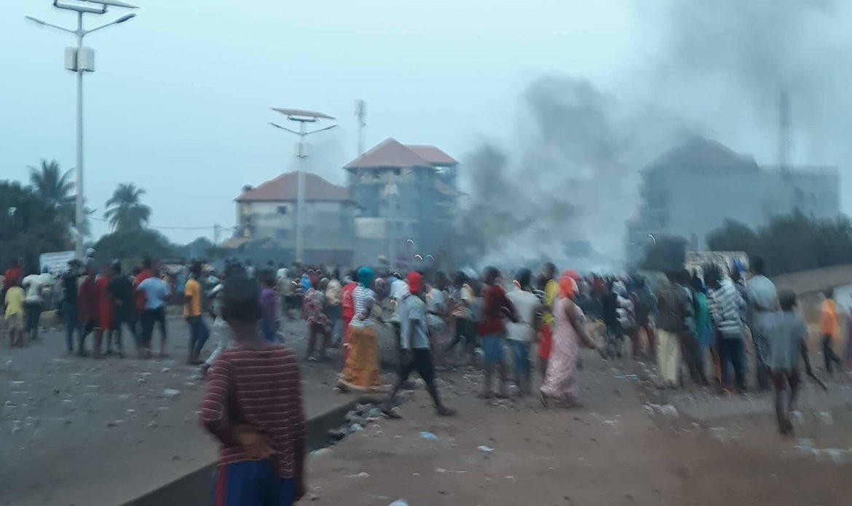 Manifestation du FNDC : le gouvernement parle de 10 cas d'arrestations et un mort