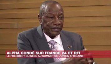 """Alpha Condé : """"La Constitution actuelle, nous sommes obligés de la violer par des accords politiques"""""""