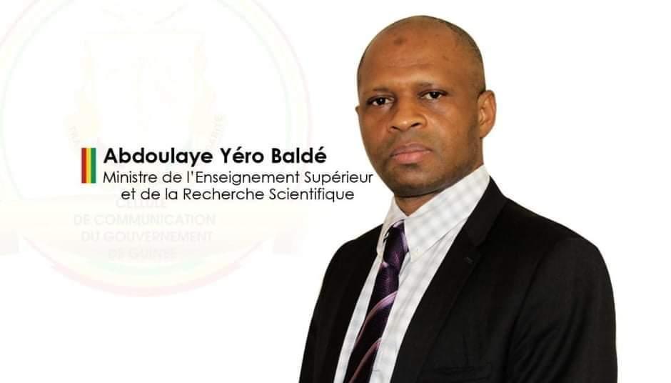 Le ministre Abdoulaye Yero Balde démissionne