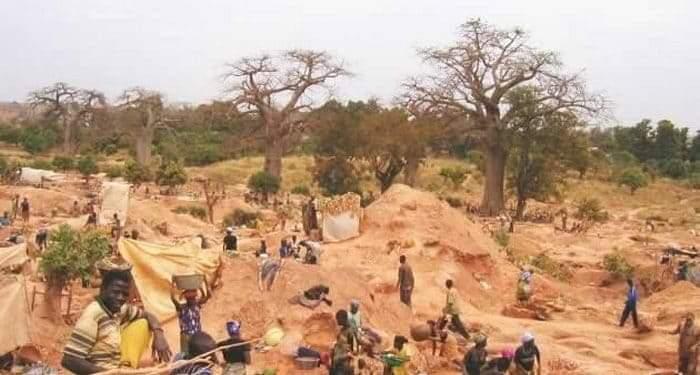 Siguiri: 7 personnes meurent dans un éboulement d'une mine d'or