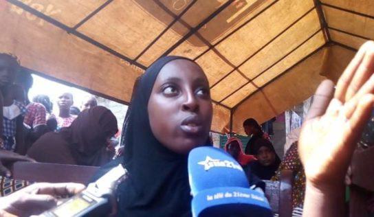 Sonfonia : dame Fatoumata Oury pleure la mort de son fils dans un incendie
