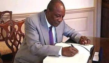 Elections législatives: la date reportée par décret