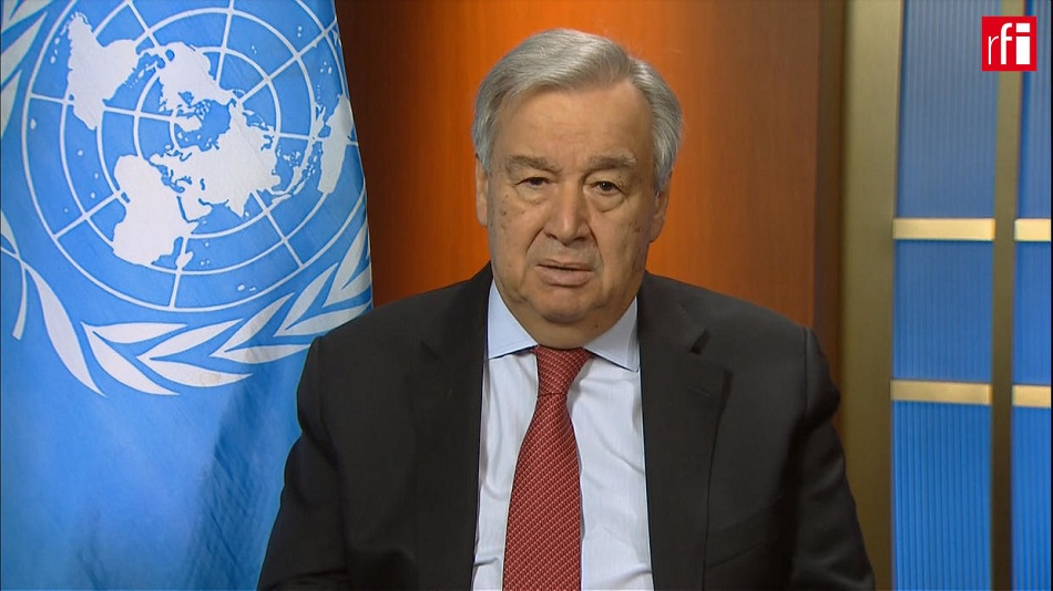 Antonio Guterres: «Il faut 3000 milliards de dollars» pour le Sud contre le coronavirus
