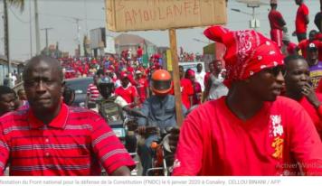 Guinée: le FNDC prépare de nouvelles manifestations pour la libération de ses militants