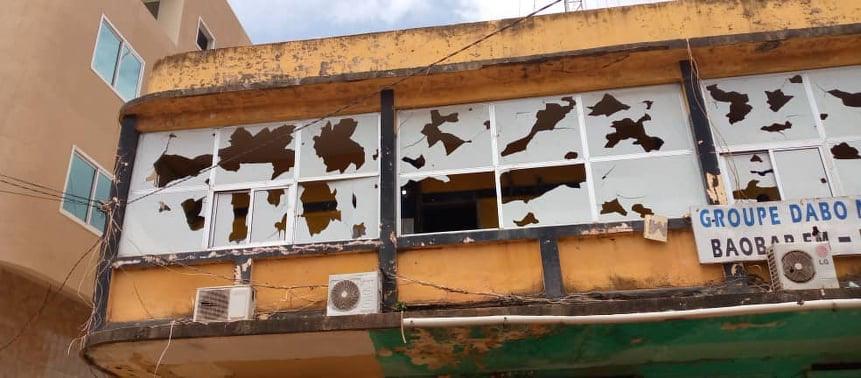 Violences à Kankan : les locaux de l'entreprise d'un proche d'Alpha Condé, saccagés par les manifestants