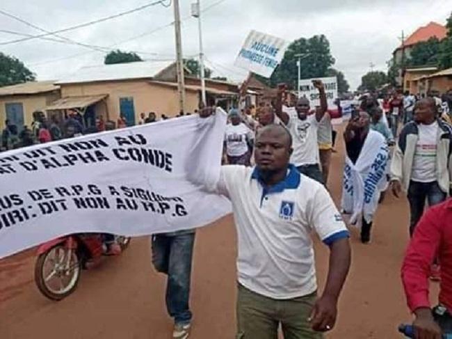 Haute-Guinée : les jeunes de Siguiri dans la rue pour réclamer les services sociaux de base