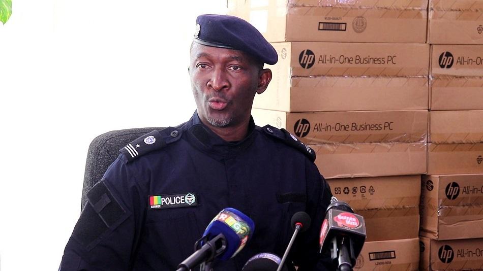 Colonel Fabou Camara de la DPJ accuse le FNDC de collaborer avec des groupes armés