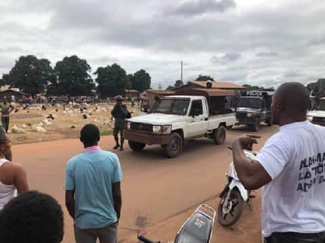 Kankan: les jeunes dans la rue contre l'obscurité et la détention de leurs camarades