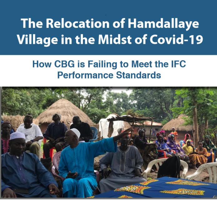 Mines: la CBG dans des sales draps pour avoir mal relocalisé le village de Hamdallaye !