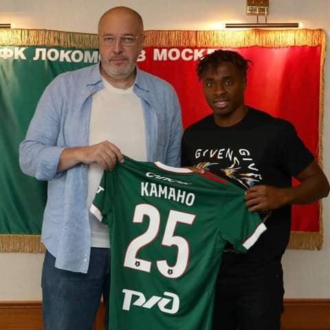Mercato : François Kamano est désormais un joueur du Lokomotiv Moscou ( officiel)