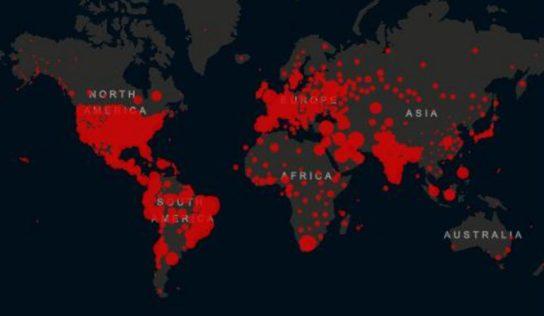 CARTE – Coronavirus : quels sont les pays les plus touchés par la pandémie ?