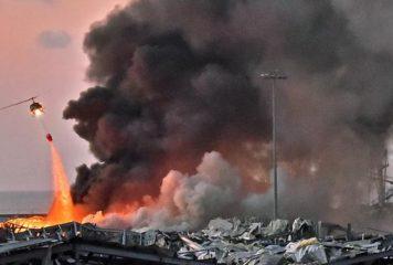 Beyrouth (Liban) : les explosions ont fait plus de 100 morts,  plus de 4.000 blessés…