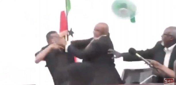 Somalie : Bagarre entre le président de la République et le président de l'Assemblée nationale (vidéo)