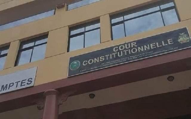 Présidentielle du 18 octobre : le parrainage  écarté ( Cour constitutionnelle)