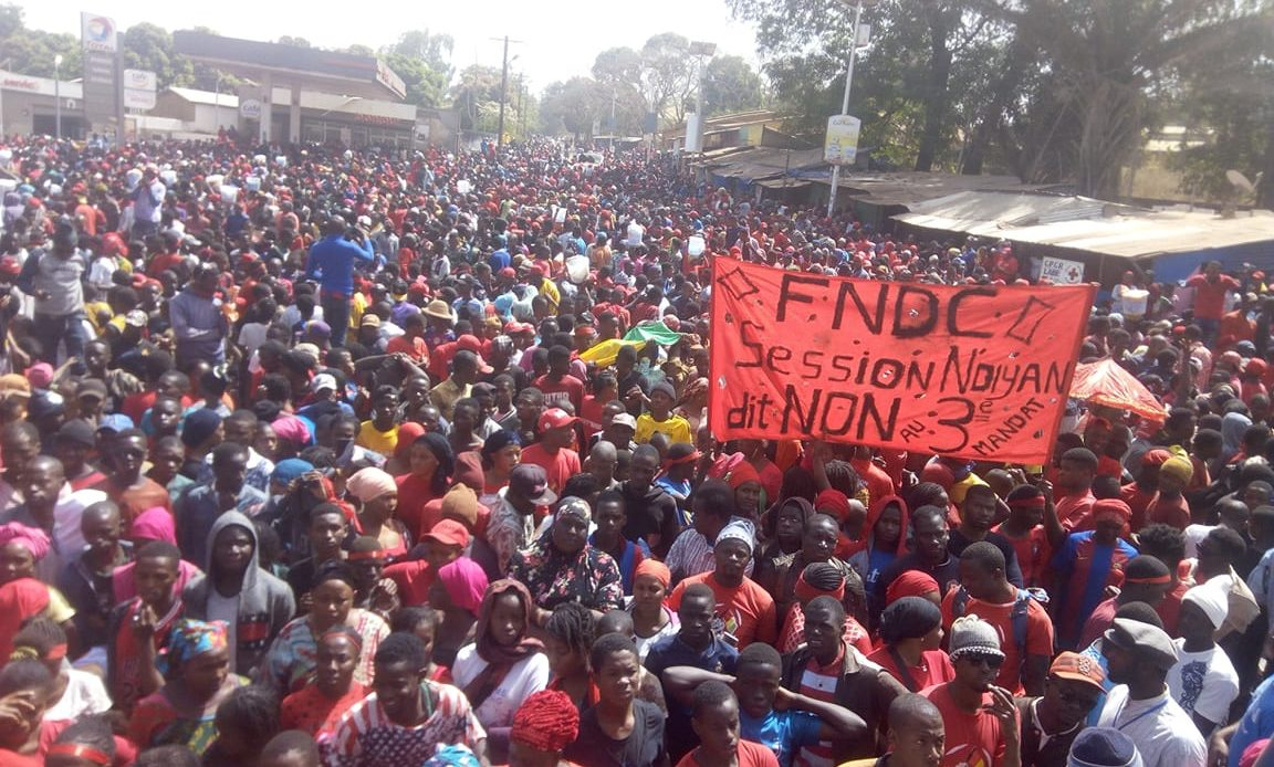 Labé: le FNDC renonce à la marche du 29 septembre, malgré l'approbation de la mairie