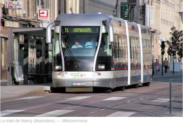 Nancy : Un homme éjacule sur une passagère du tram
