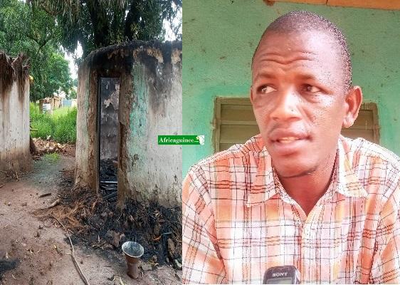 """Chérif Diallo, victime des violences à Kankan: """"Comment ils ont incendié chez nous…"""""""