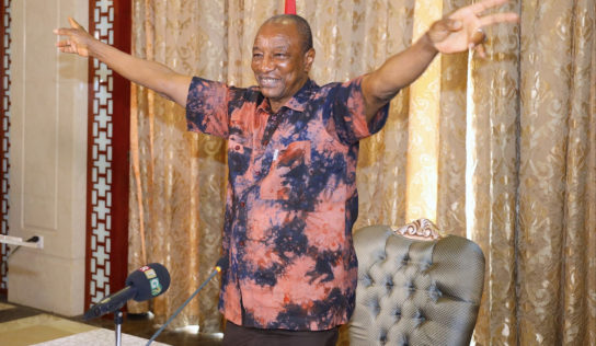 Guinée : Alpha Condé réélu pour un troisième mandat