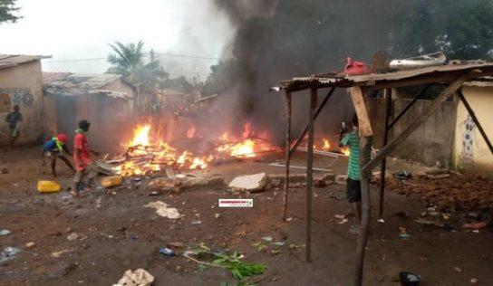 Hamdallaye Gnariwada: le PA saccagé et brûlé
