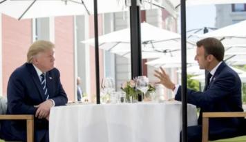 Donald Trump qualifie Emmanuel Macron de «premier ministre»