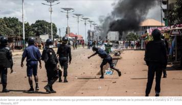 Plusieurs morts dans des violences post-électorales en Guinée