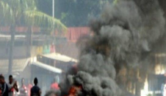 Crimes à Conakry: Un père de famille et son fils brûlés vifs à Entag…