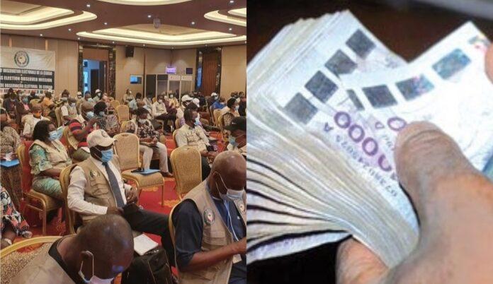 Présidentielle/Guinée : Des observateurs de la CEDEAO surpris en train de se partager plus de 500.000 euros ?