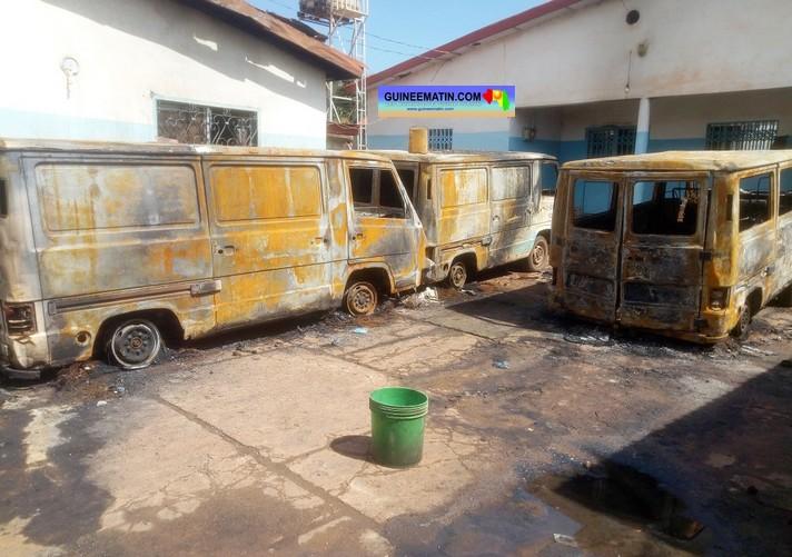 Triste bilan des violences à Kankan : 34 blessés, 45 boutiques vandalisées et pillées, 5 voitures, 4 motos et 10 maisons incendiées, 18 millions emportés