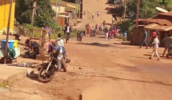 Labé : des jeunes dans les rues pour désapprouver les résultats partiaux de la CENI