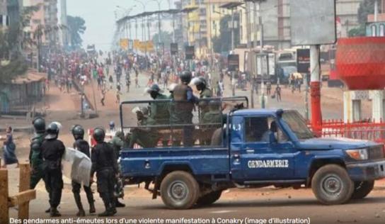 Cosa : des gendarmes tirent à balles réelles sur trois jeunes