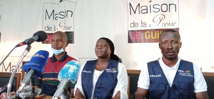 """Condamnation de journalistes: le Syndicat de la presse privée de Guinée dénonce une """"faute judiciaire"""""""