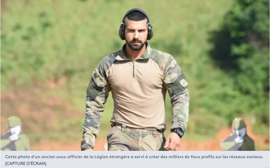 """Quand les """"brouteurs"""" usurpent l'identité de militaires français pour des arnaques sur les réseaux sociaux"""