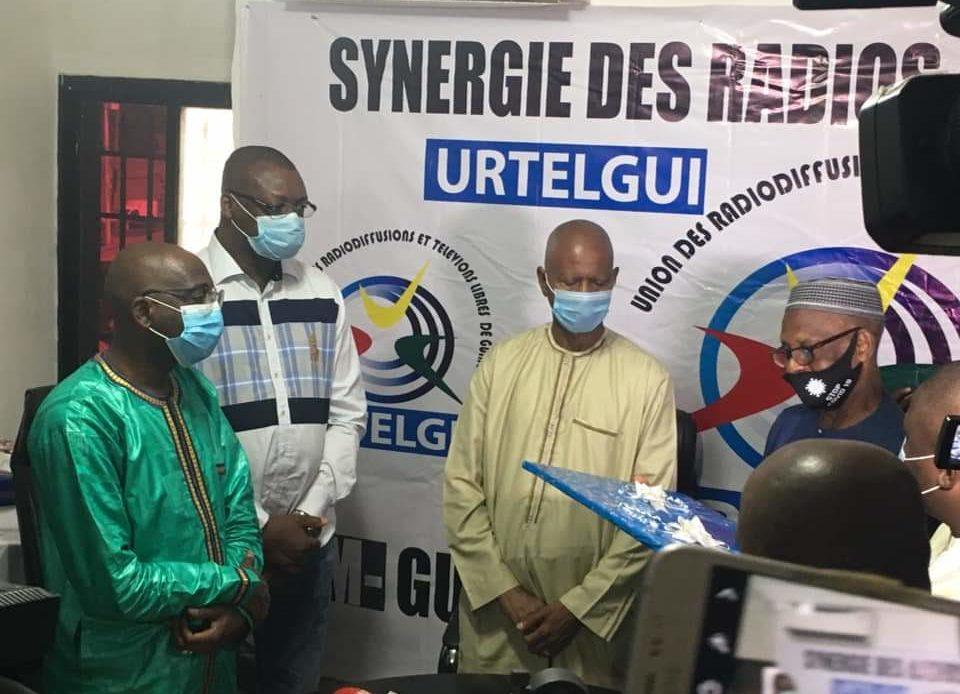 Journalistes condamnés : la colère du président de l'Union des Radios et Télévisions Libres de Guinée (URTELGUI)