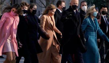 La photo de famille du clan Biden, déjà un nouveau style à la Maison-Blanche