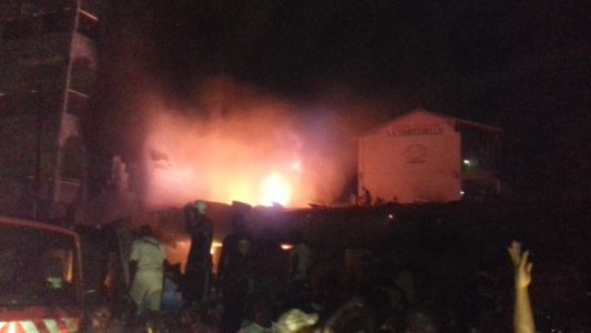Matoto : deux fillettes périssent dans un incendie à Lansanaya Plateau