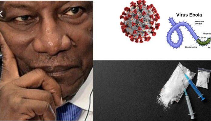 Guinée en crise: Alpha Condé entre Covid19, Ebola, trafic de drogue et crise politique!