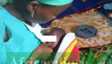 """Kouroussa : Naissance d'un bébé """"hors du commun"""" à Cisséla…"""