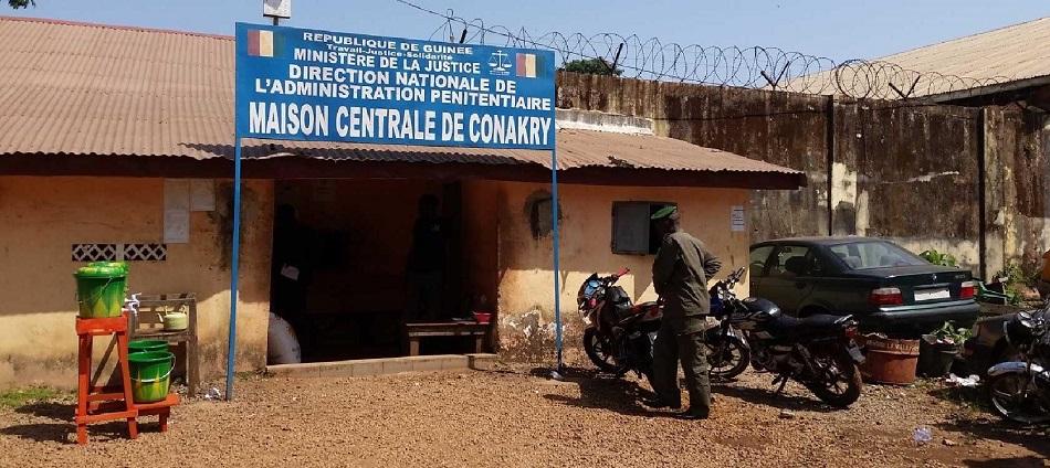 Maison centrale de Conakry :Un détenu retrouvé pendu dans sa cellule