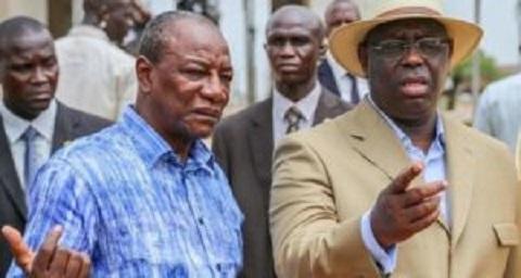 Alpha Condé en colère contre Macky Sall : ''Ceux qui menacent de déstabiliser la Guinée, ils le font depuis Dakar''