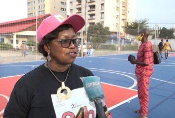 « Nous voulons accroître le nombre de femmes dans le monde du sport », Germaine Mangue, présidente de la Commission femmes et sport du CNOSG