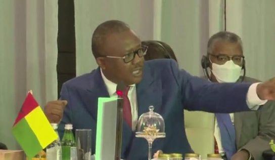 """Accra- Embalo furieux : """"On doit dire la vérité au Président Alpha, il n'avait pas le droit…"""""""