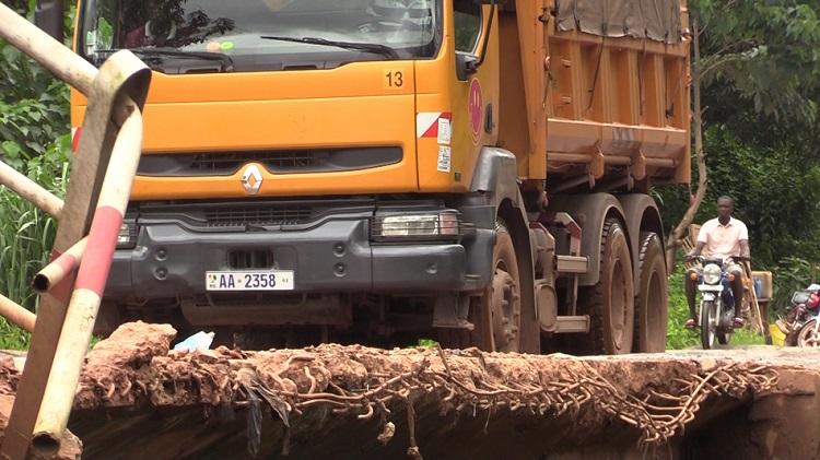 Infrastructures routières : le pont de Dioumayah ( Dubreka) sur le point de céder
