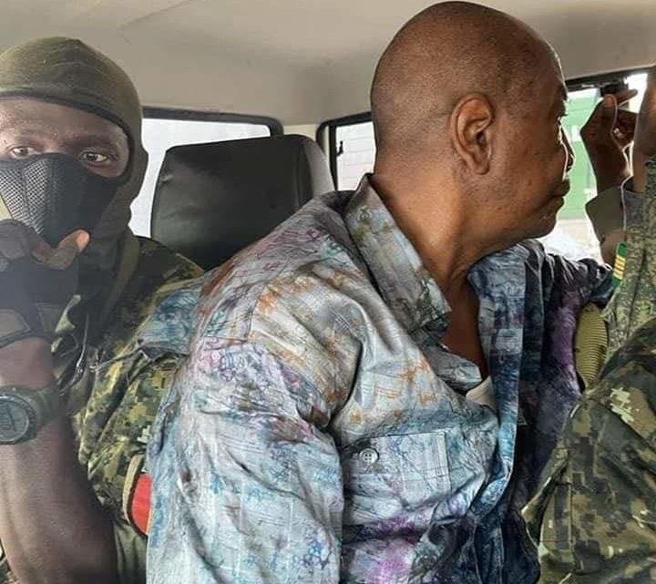 """La France prête à accueillir """"temporairement """" l'ancien président Guinéen"""